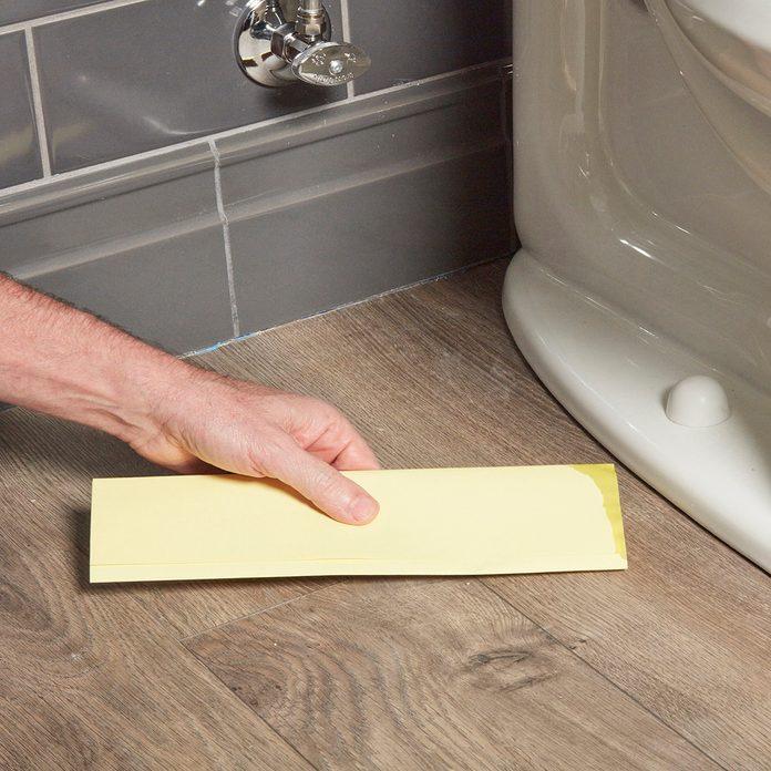 Flush before you caulk