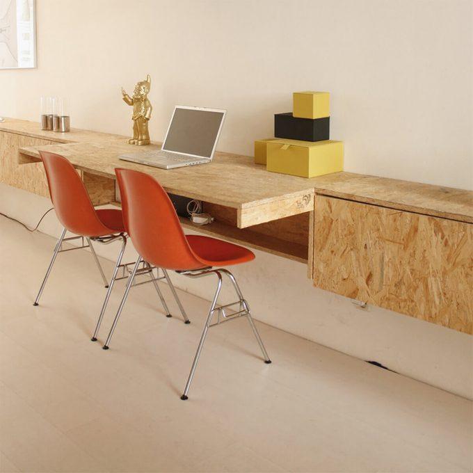 plywood furniture fold down desks