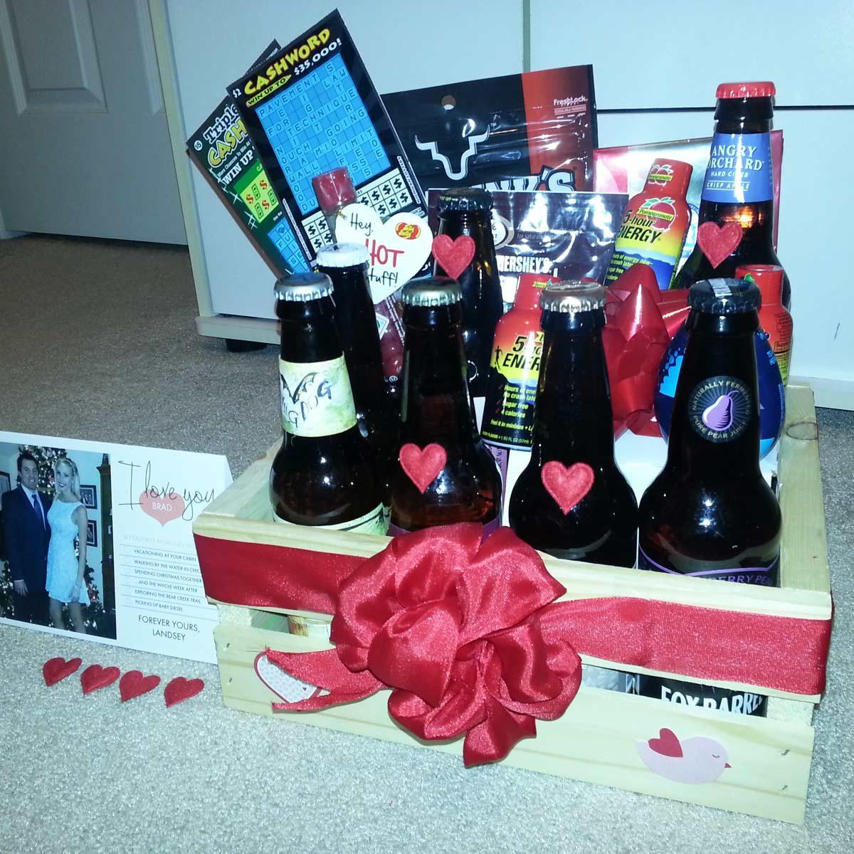 gift basket valentine
