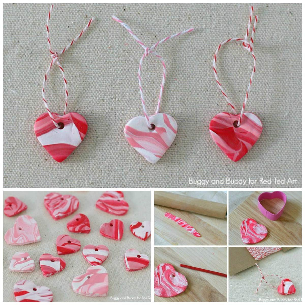 heart charms valentine