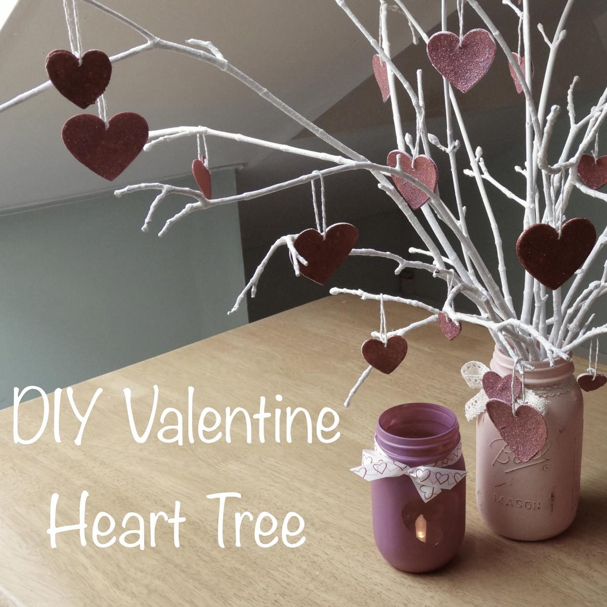 heart tree valentine