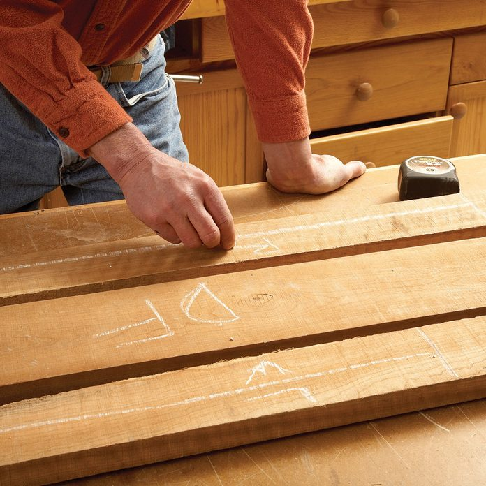 Laying out the lumber and labeling it | Construction Pro Tips