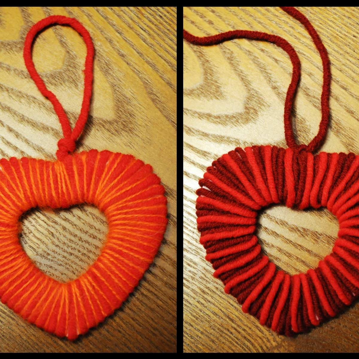 heart shaped ornament