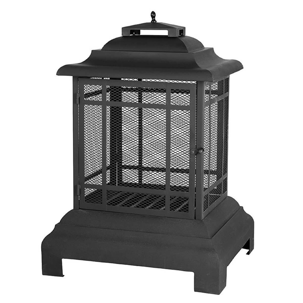 pagoda fire pit portable outdoor fire pit