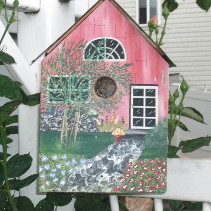Painted Birdhouse