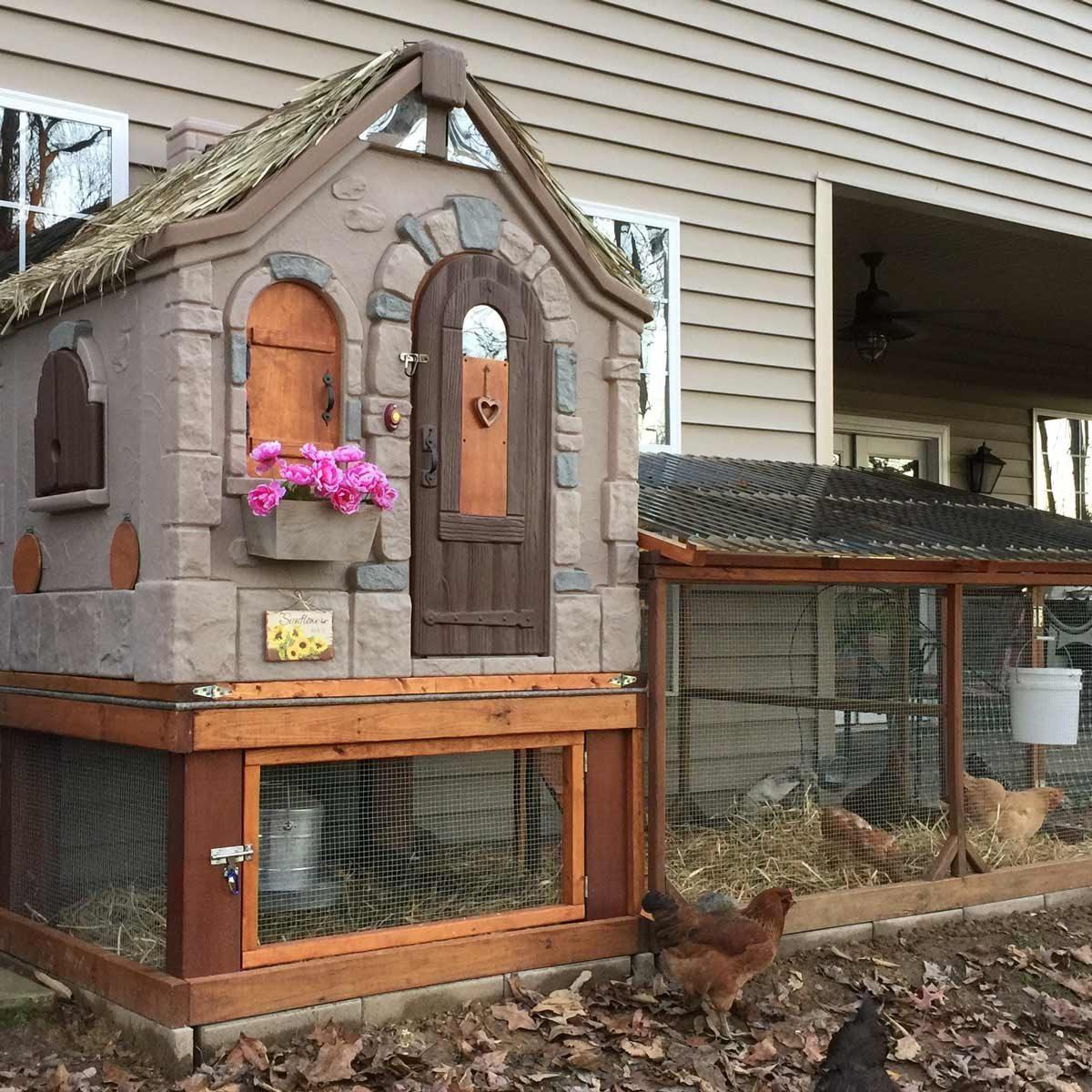 playhouse chicken coop