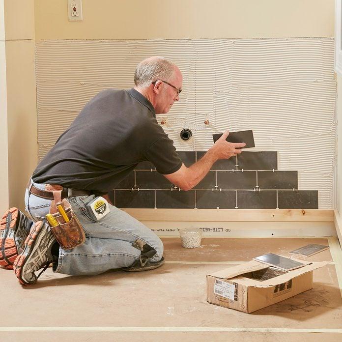 Set the full tiles