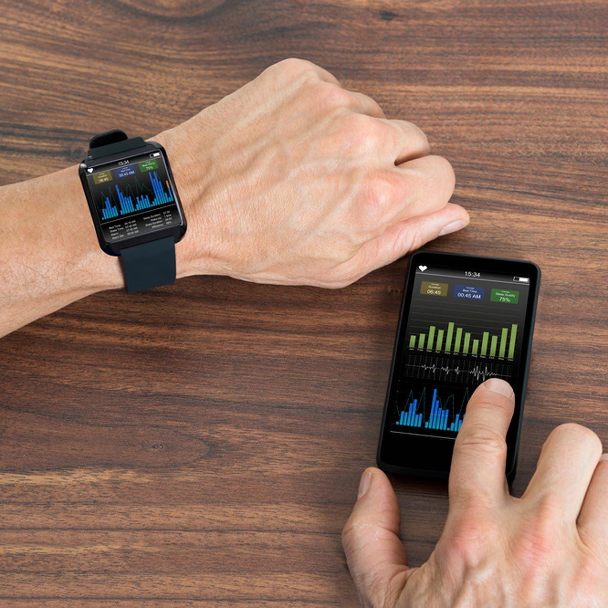 fitness monitor smart watch fitbit