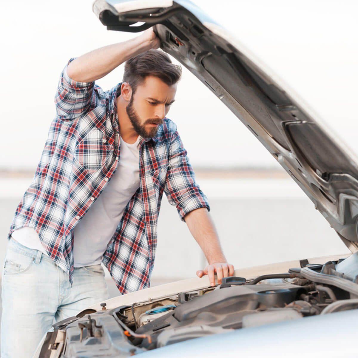 car hood automotive