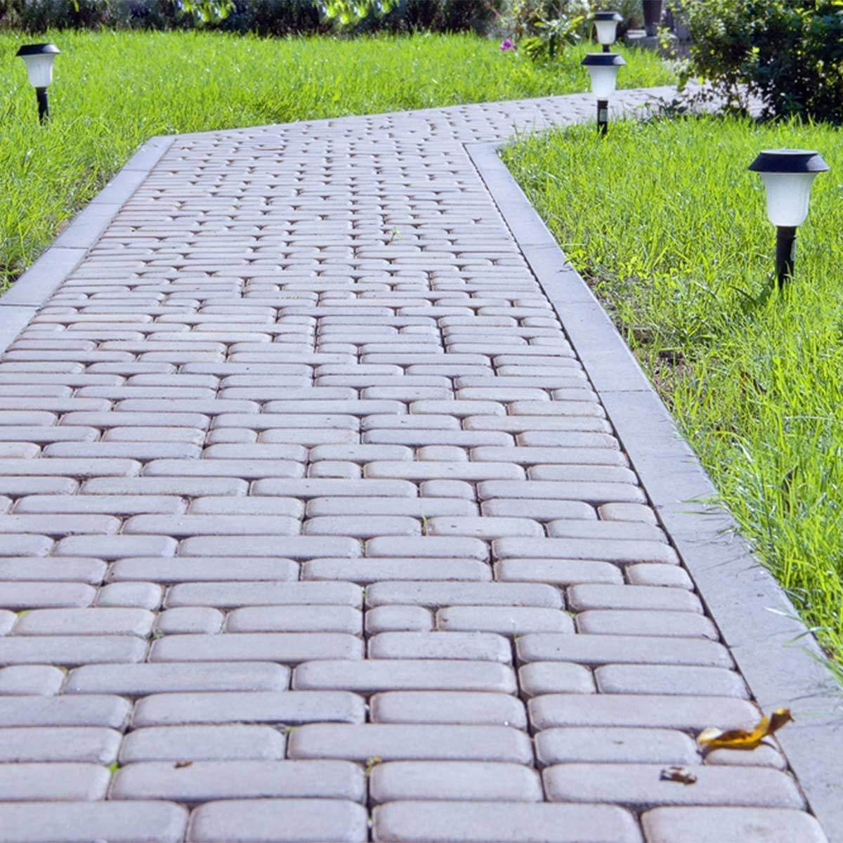 brick path lights
