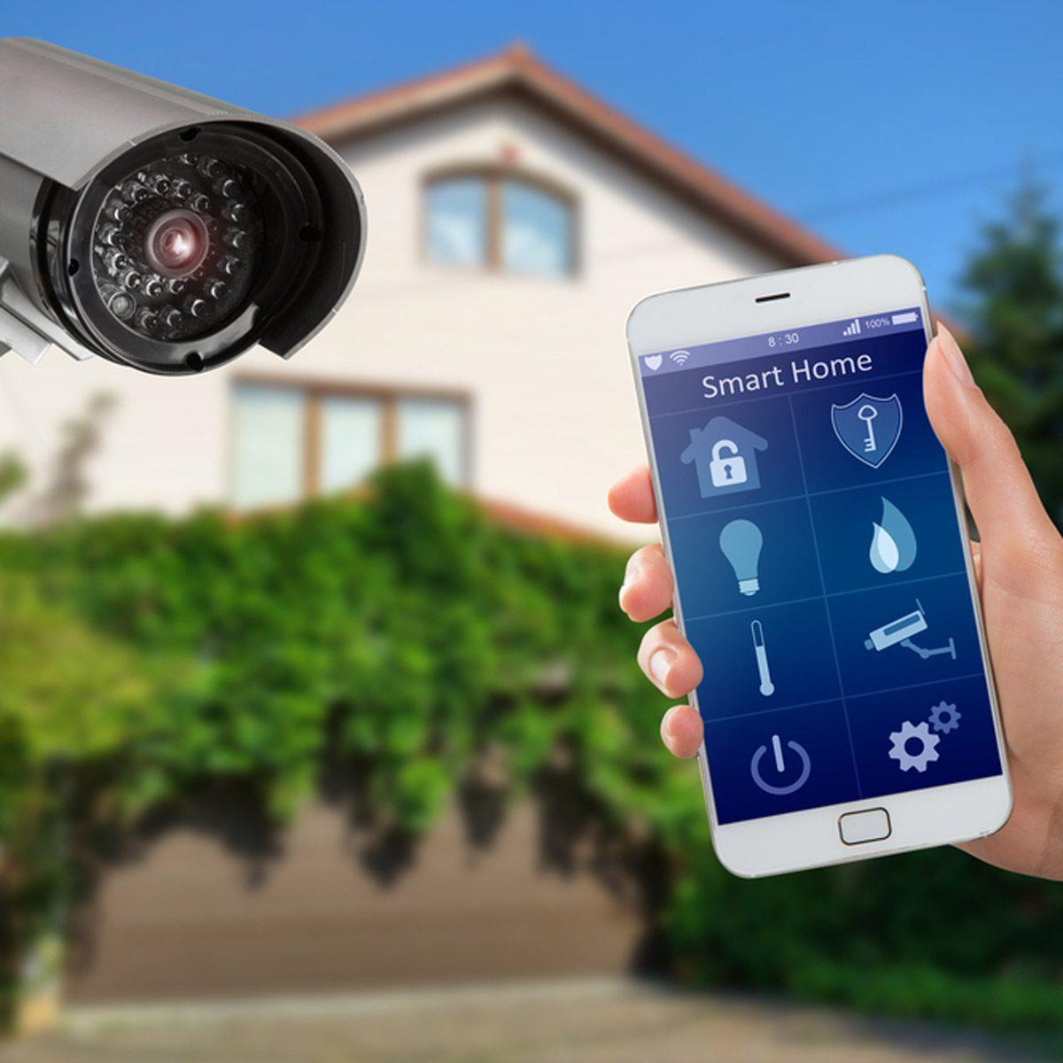 external security camera phone app