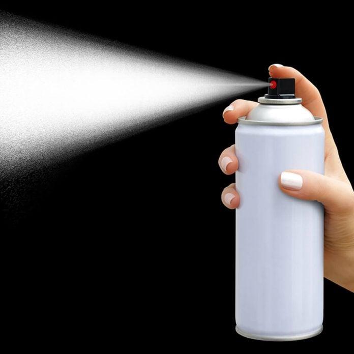 Aerosol Spray Paint Can
