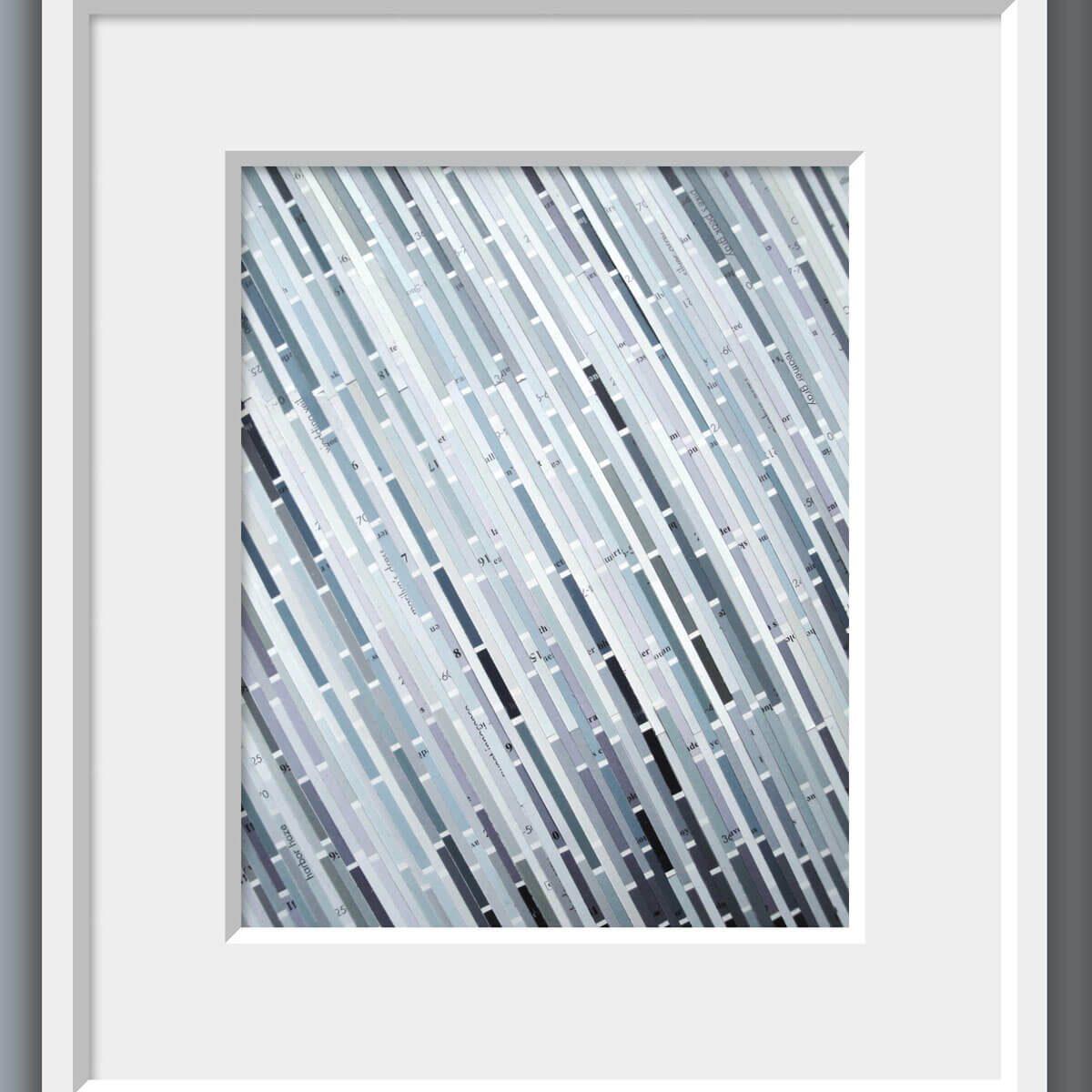 Paint Sample Stripe Art