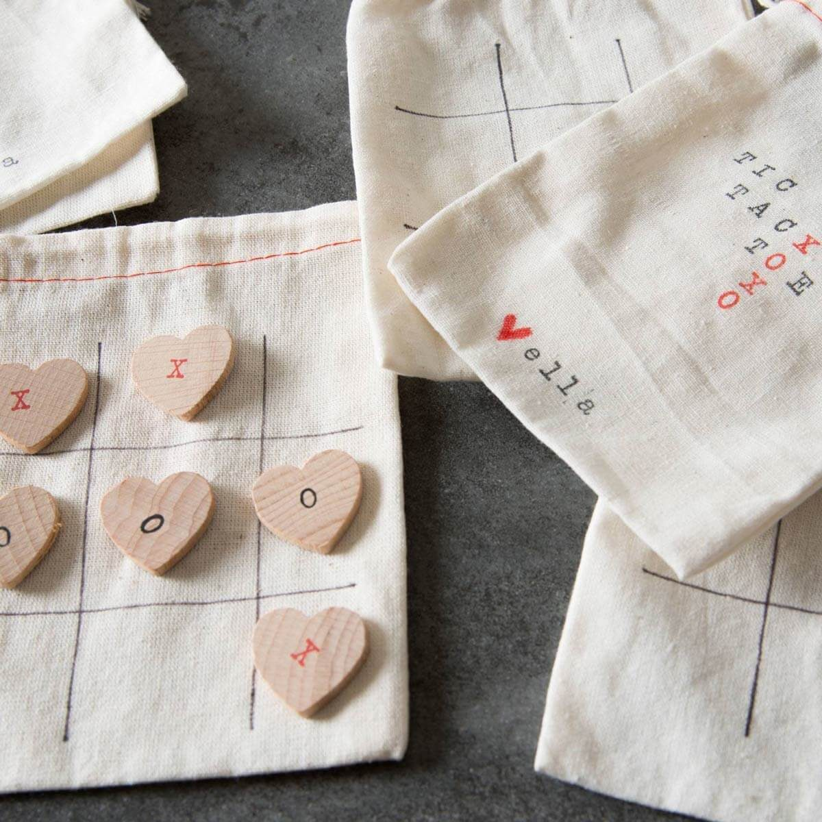 tic tac toe board valentine gift