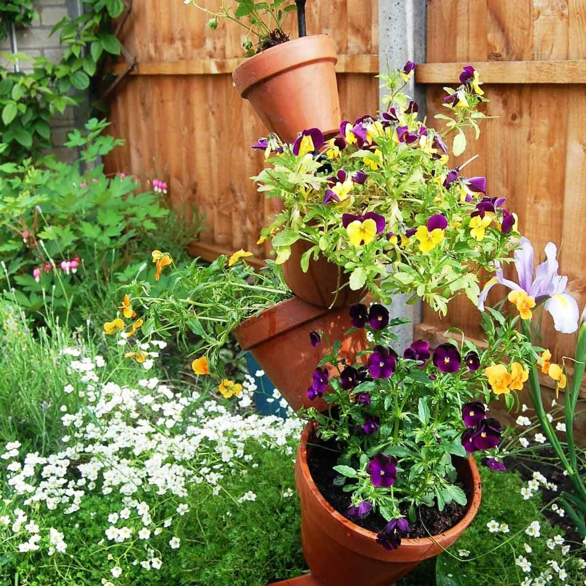 flower tower pot