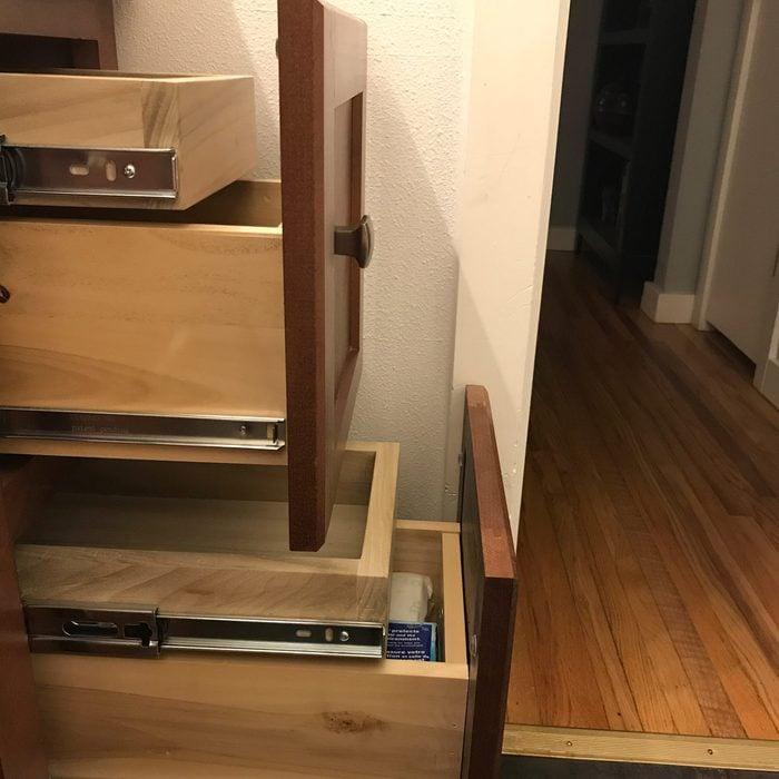 Added vanity storage