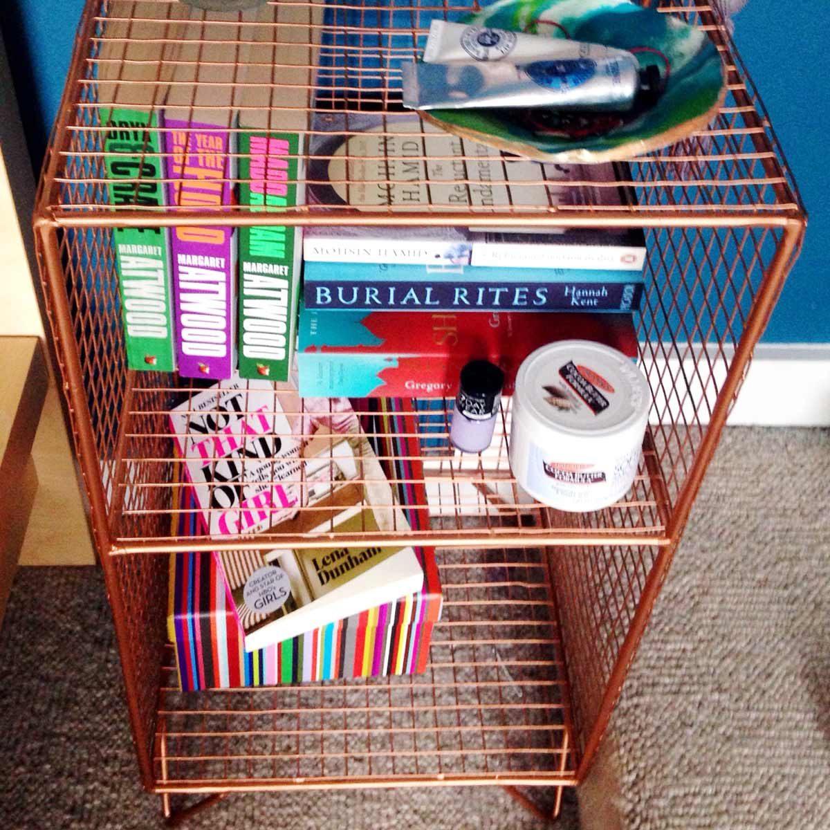 copper wife shelf