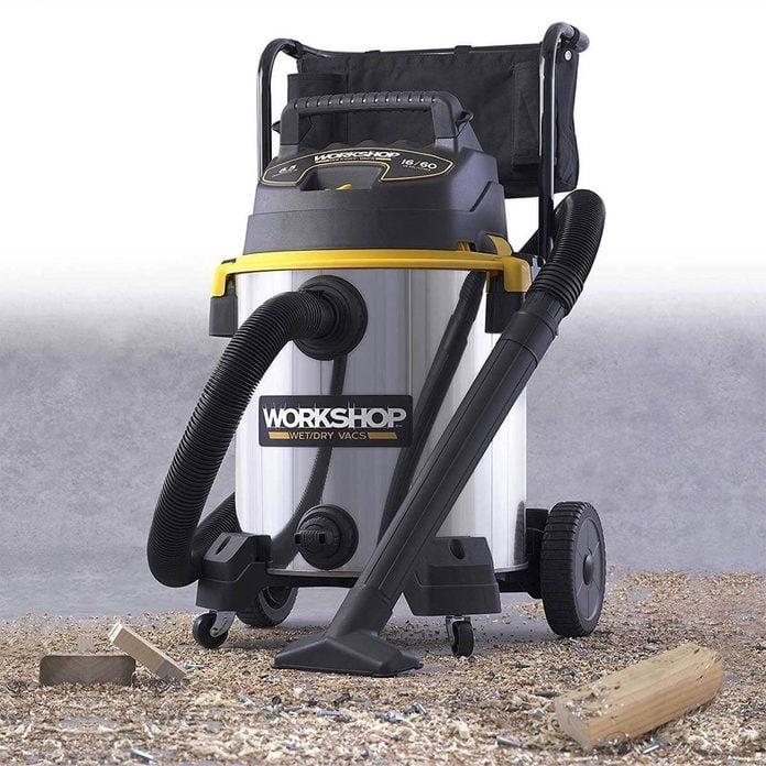 WORKSHOP Stainless Steel Wet/Dry Vac tool