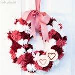 14 Inexpensive DIY Valentine Wreaths for Your Front Door