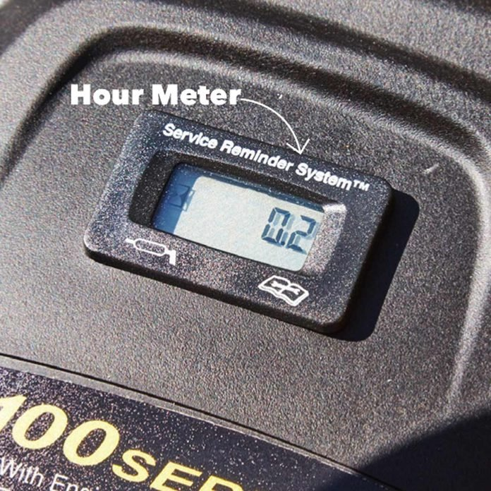 lawn tractor hour meter