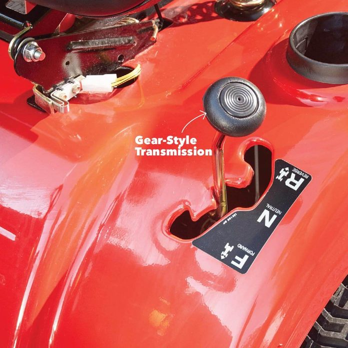 lawn tractor gear style transmission
