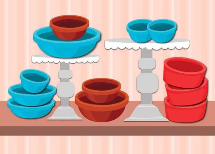 pantry organization dishes