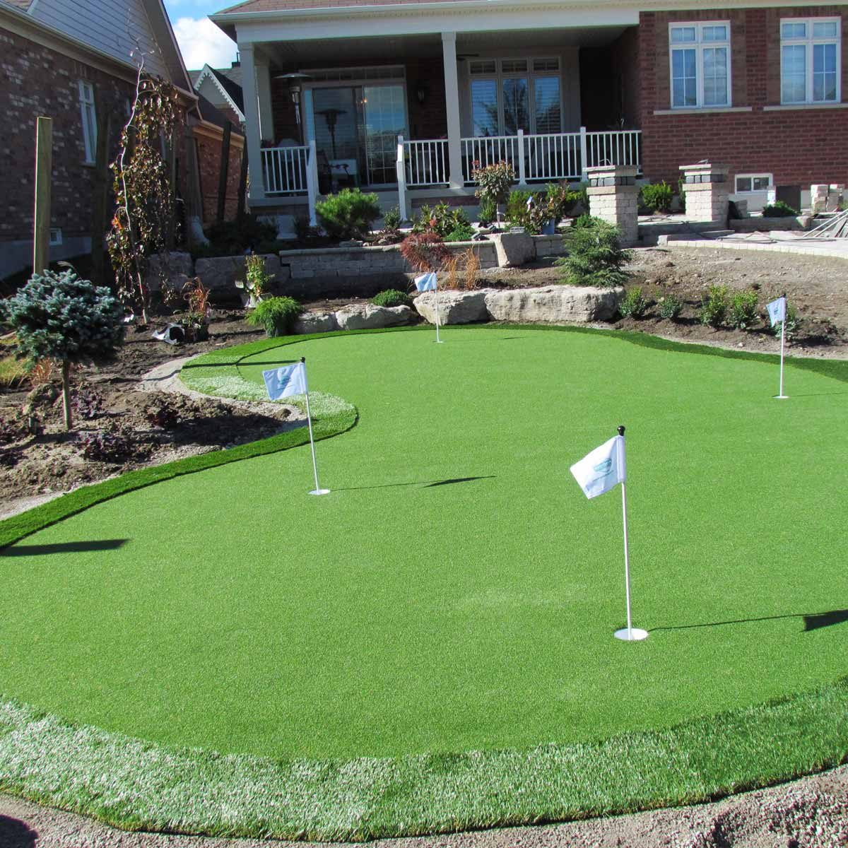 19 Crazy Cool Backyard Putting Greens Family Handyman