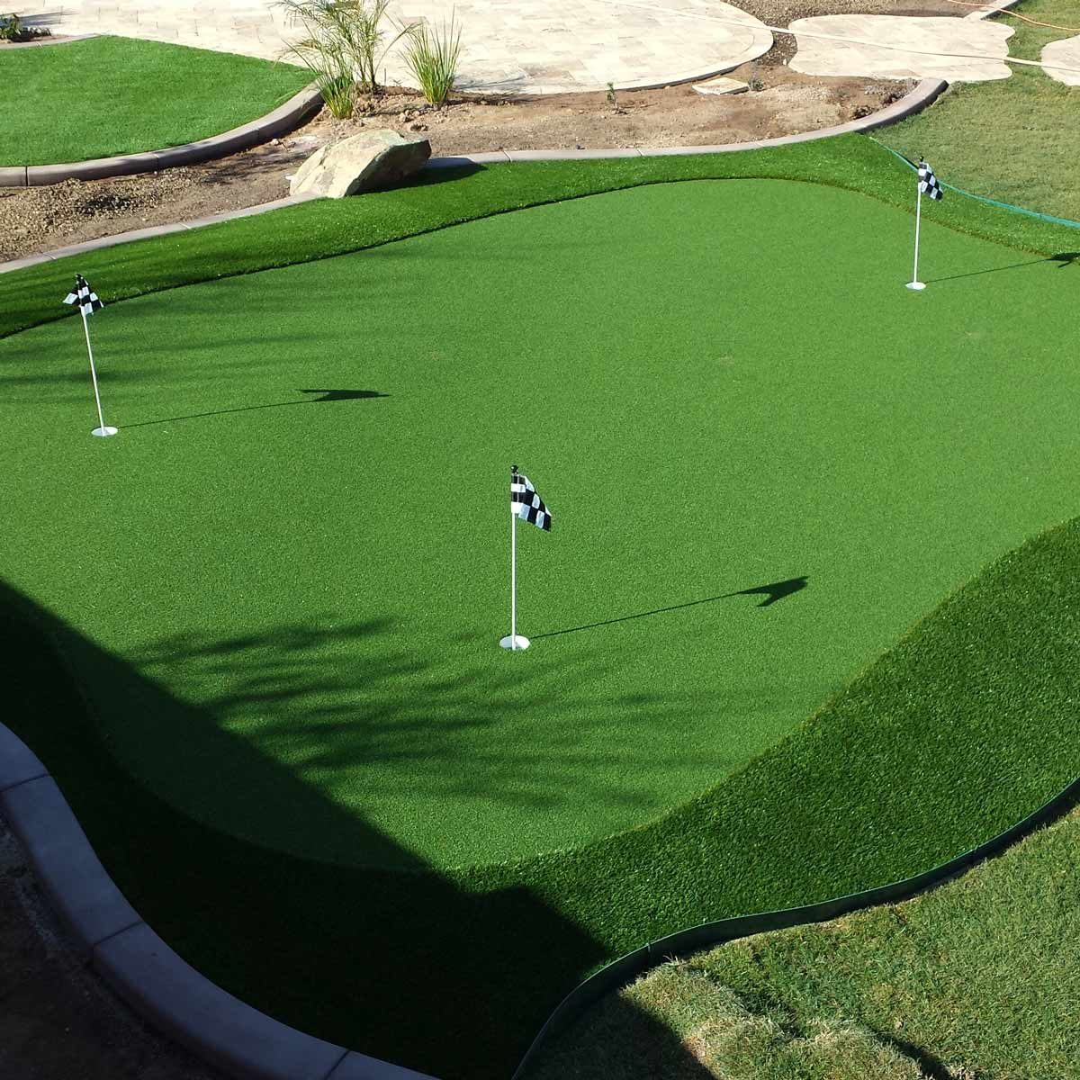ProGreen Synthetic Turf Systems - 19 Crazy Cool Backyard Putting Greens — The Family Handyman