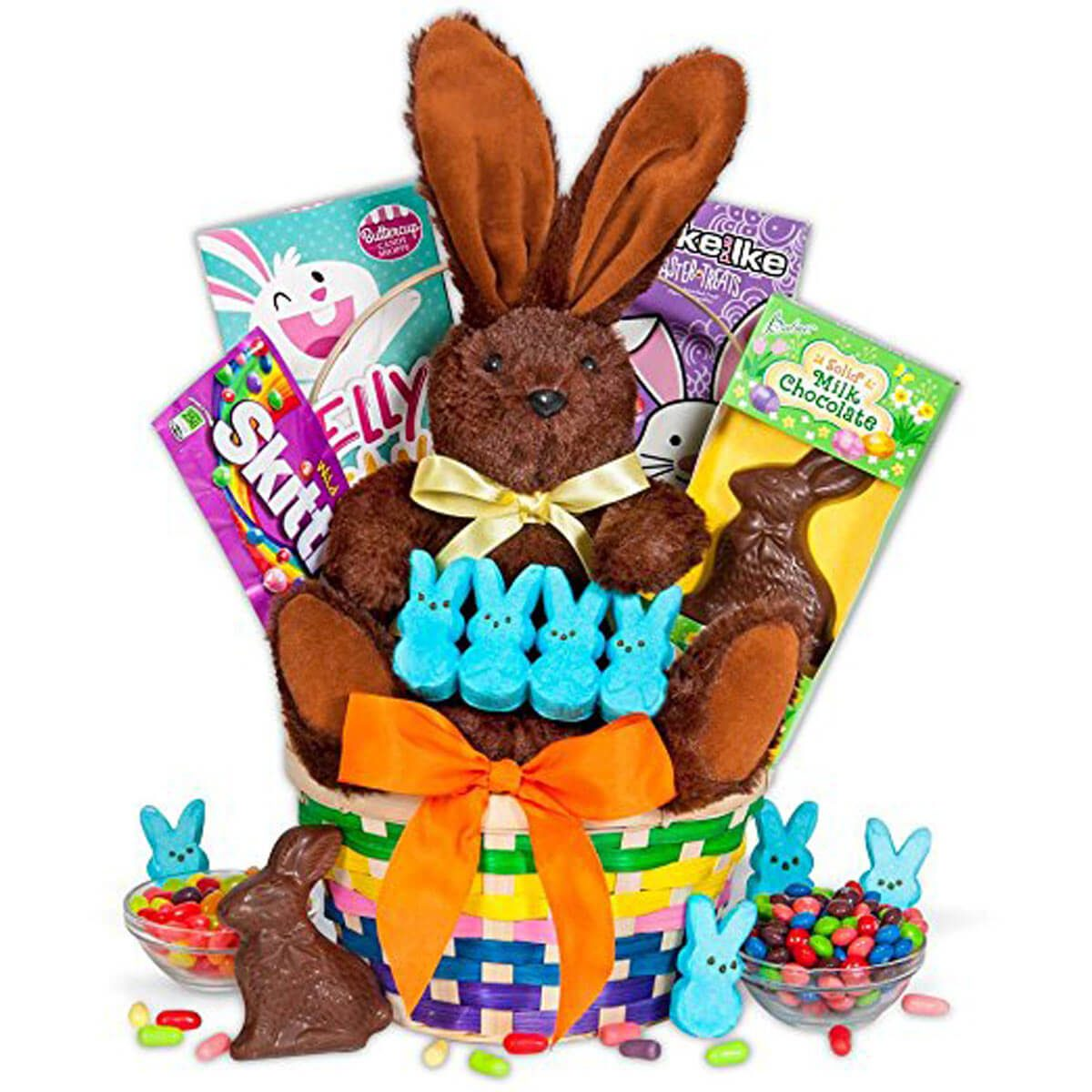 40 fabulous diy easter baskets the family handyman classic wicker baskets negle Image collections