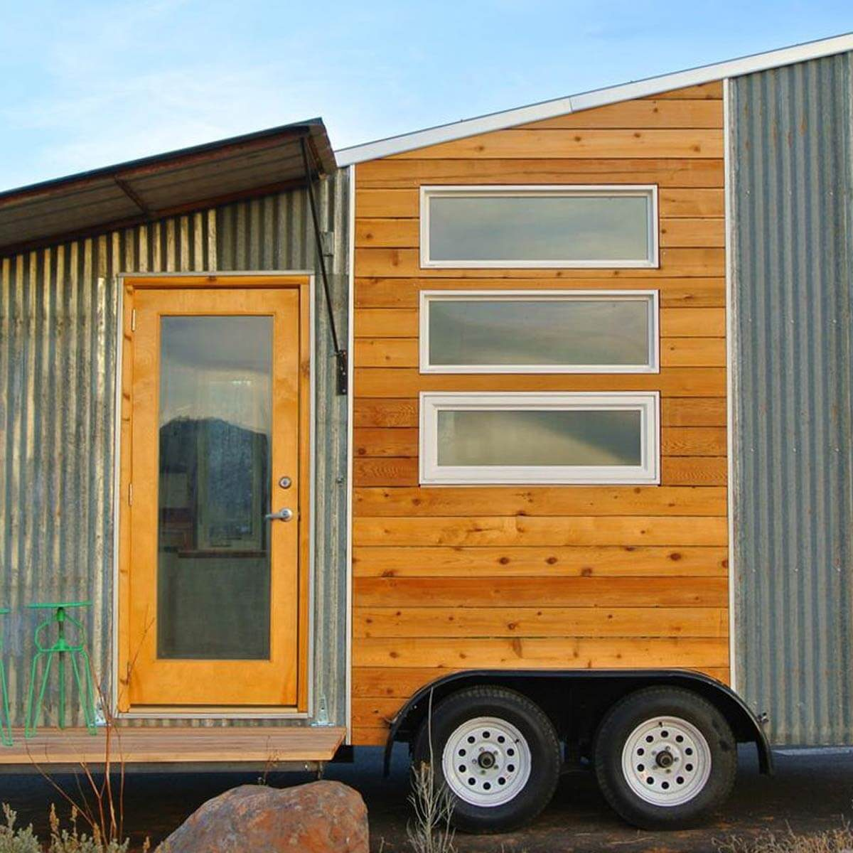 25 Tiny Homes Built From Recycled Material