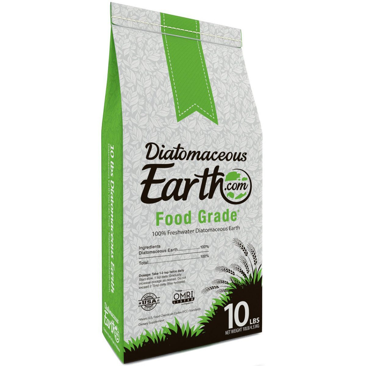 Organic Freshwater Food Grade Diatomaceous Earth