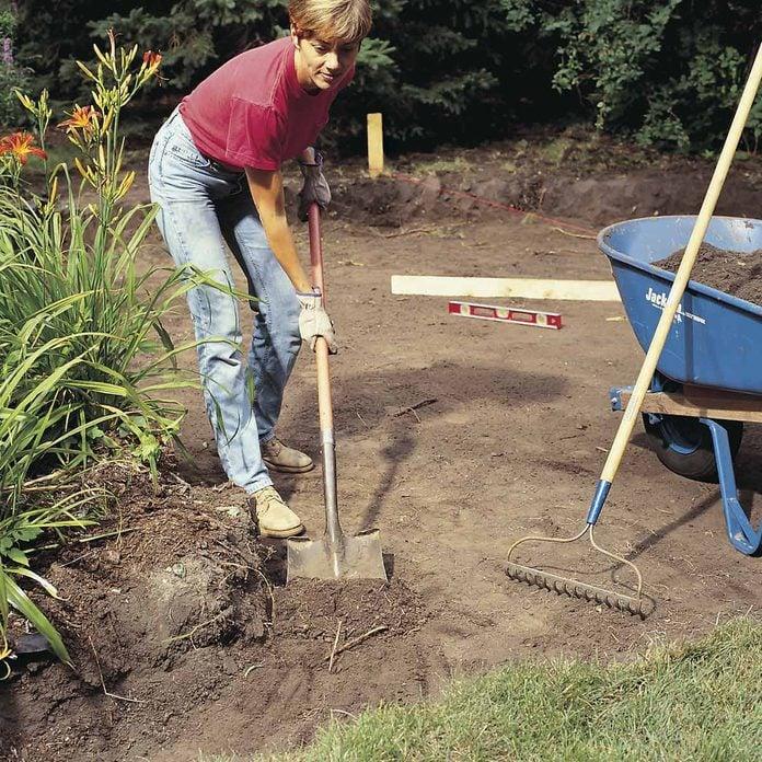 prepping for concrete slab