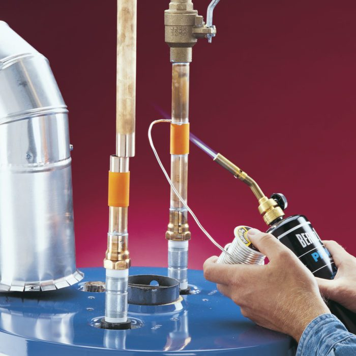 Install A Replacement Water Heater