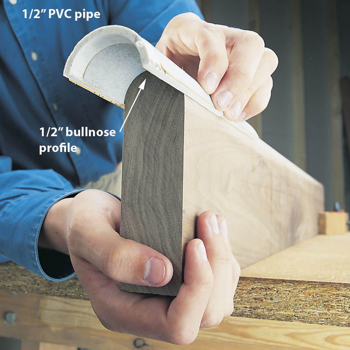 pvc sanding tools