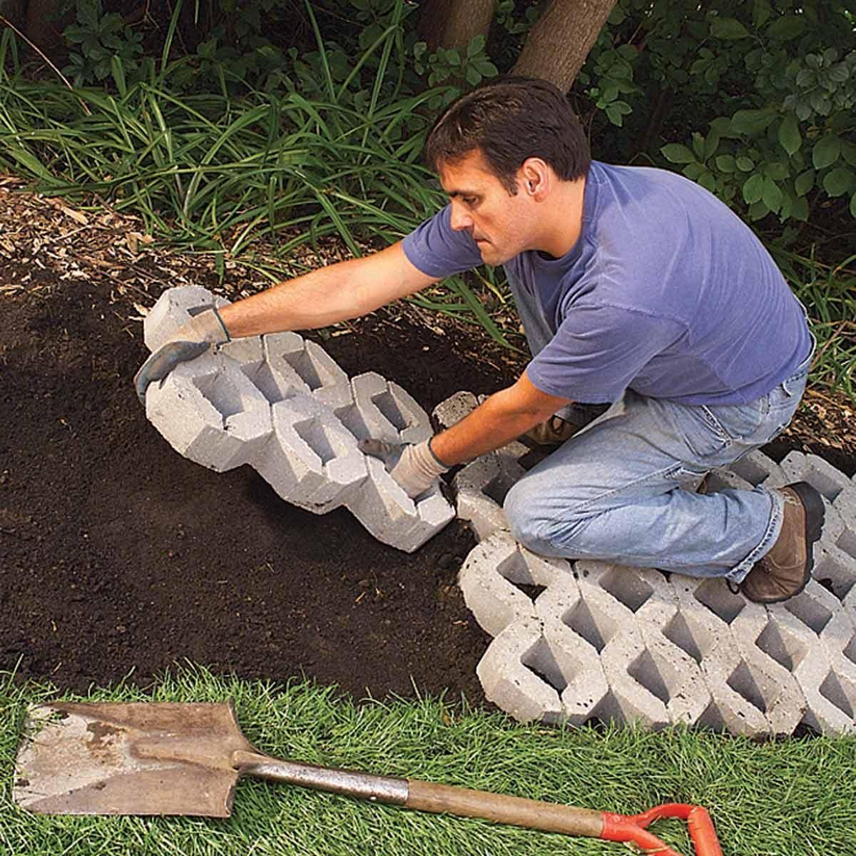 A Paver Path That Grows The Family Handyman