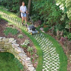 A Paver Path That Grows