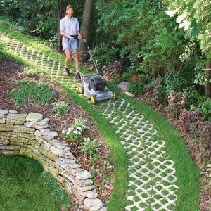 A Paver Path that Grows