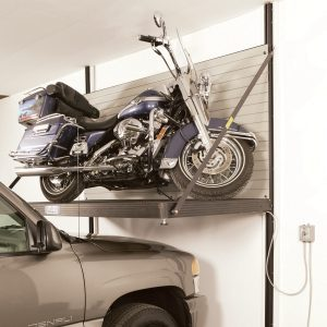 Hoist Your Bike to Make Room for Your Wheels