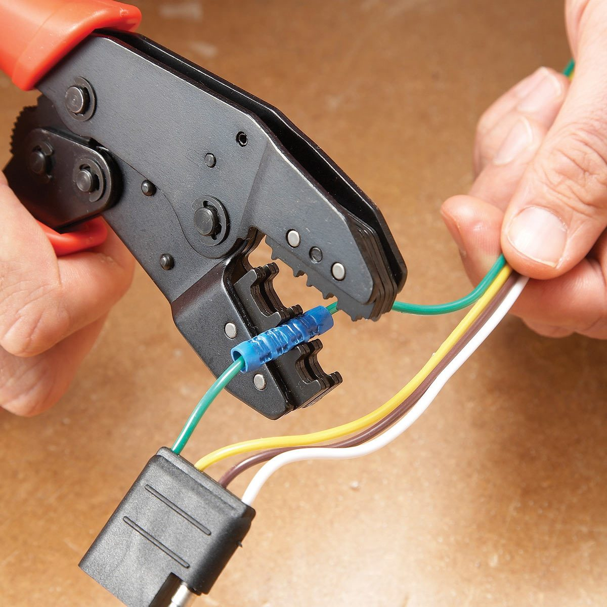 splicing auto wires