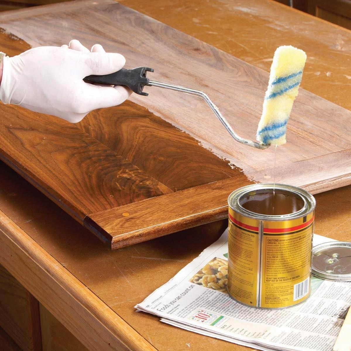 18 handy hints for wood finishing   family handyman