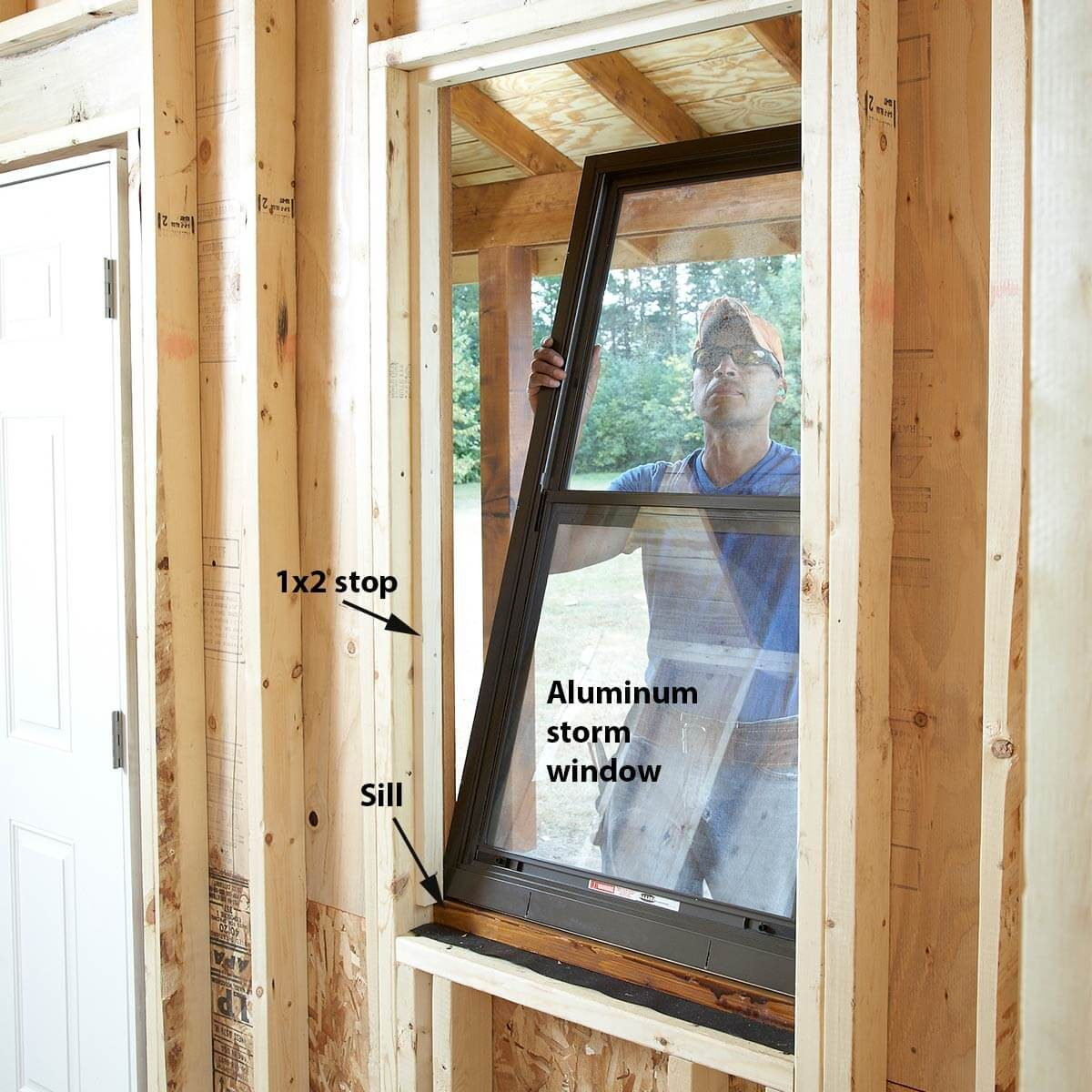 installing shed windows