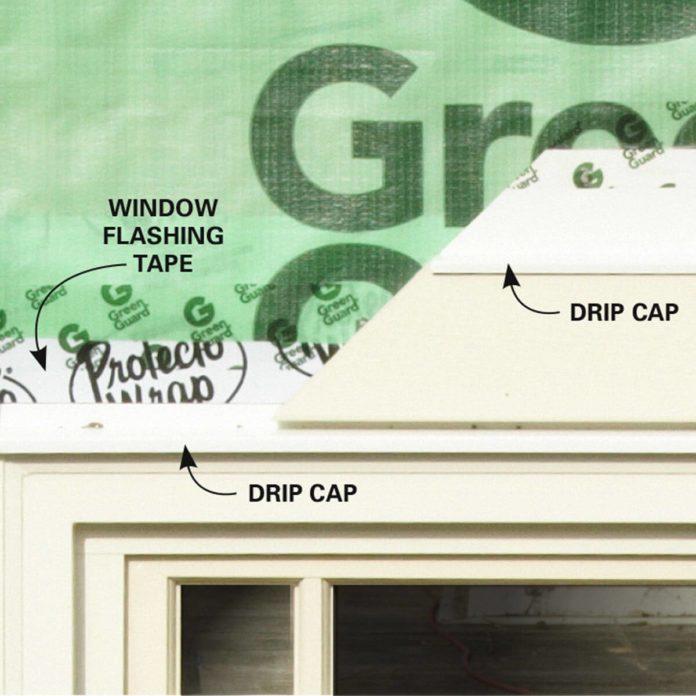DIY Dictionary: Drip Cap Flashing