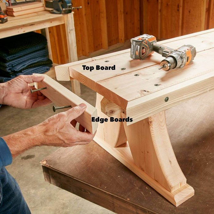 viking bench seat braces and edge boards