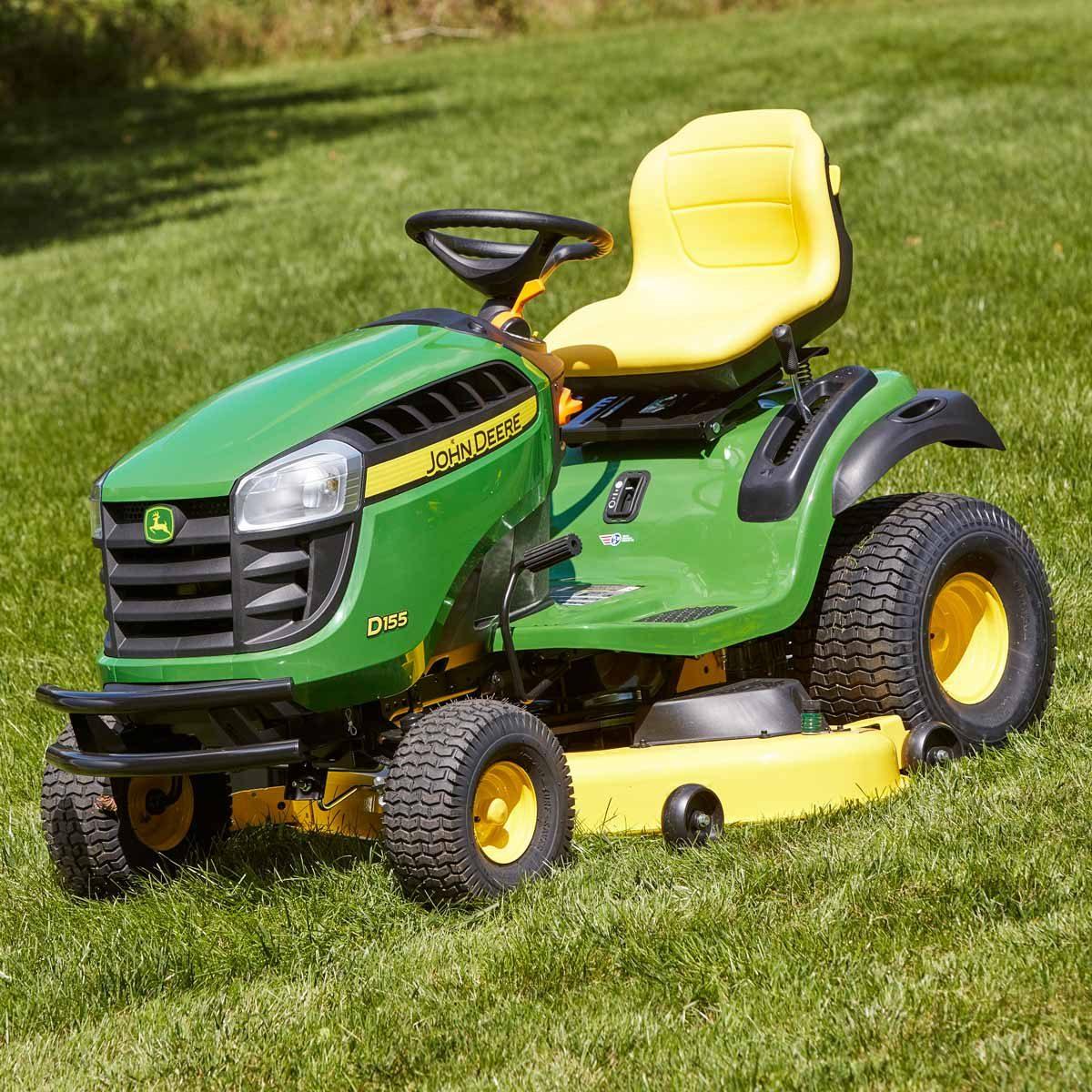 John Deere D155 lawn tractor