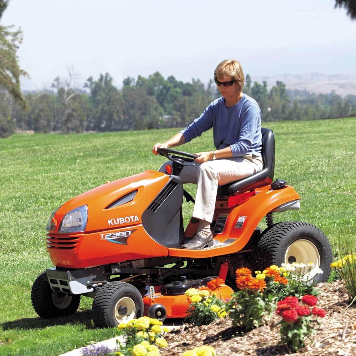 garden tractor lawn mower tractor