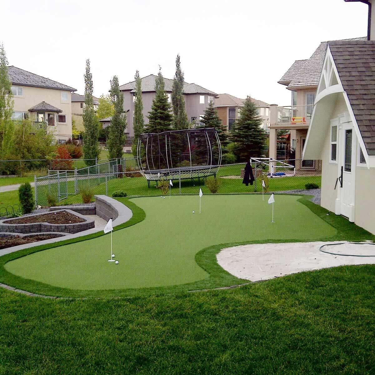 19 Crazy Cool Backyard Putting Greens — The Family Handyman on Putting Green Ideas For Backyard id=83205