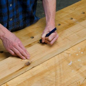 Use This Pencil Hack for Perfectly Flat Boards