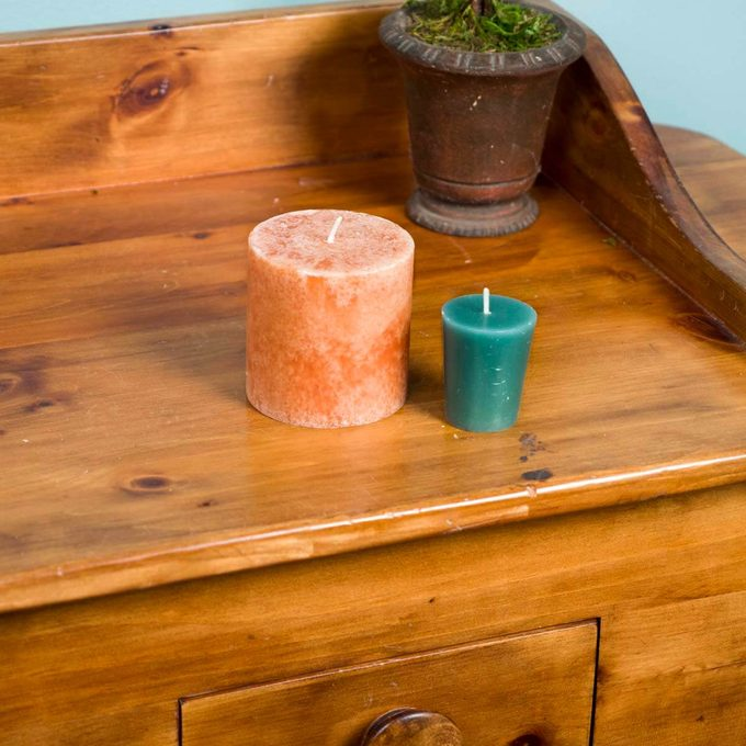 HH candles to lubricate sticking drawers