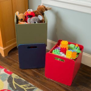 Saturday Morning Workshop: How to Build Stacking Totes