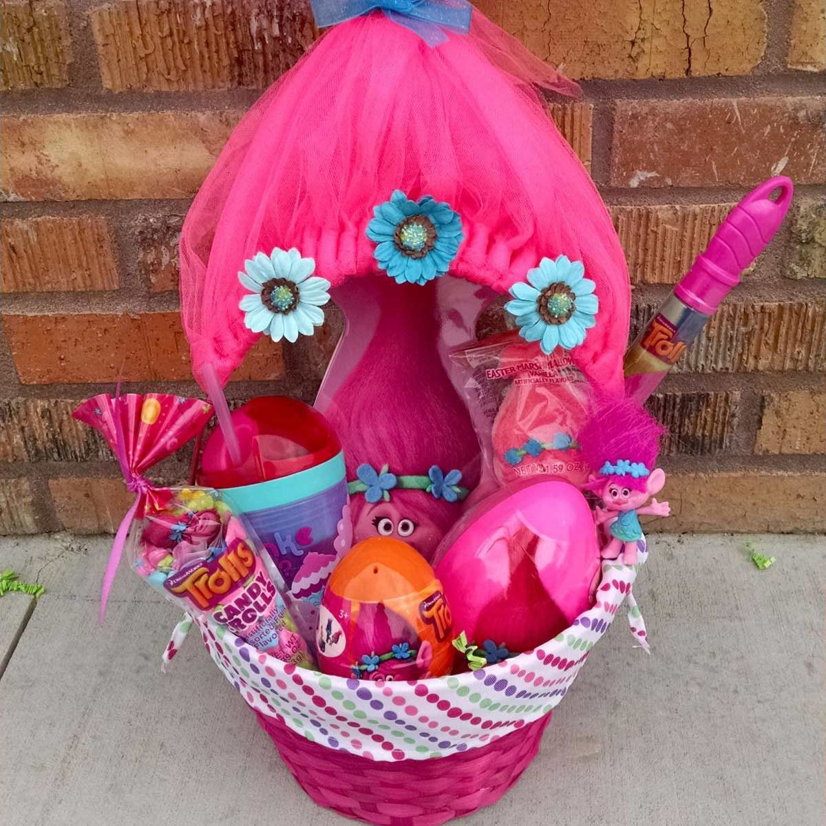 For Easter Egg Hunts! Set Of 2 Make Your Own Felt Easter Baskets